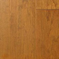 Award Terra Bella Smooth Plank Stained American Cherry-steamed Bellagio Bronze