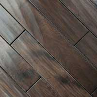 Johnson Distressed Plank Pata. Cherry Hand Scraped Chestnut 5in