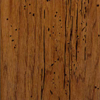 Award Masters Touch Antique Plank Distressed Stained Hickory Toased Almond